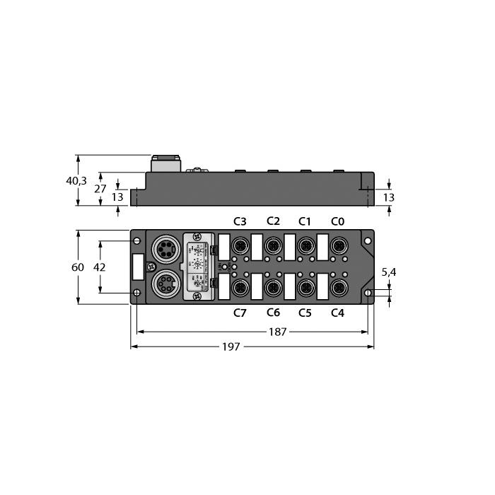 Turck FDNL-L1600-T