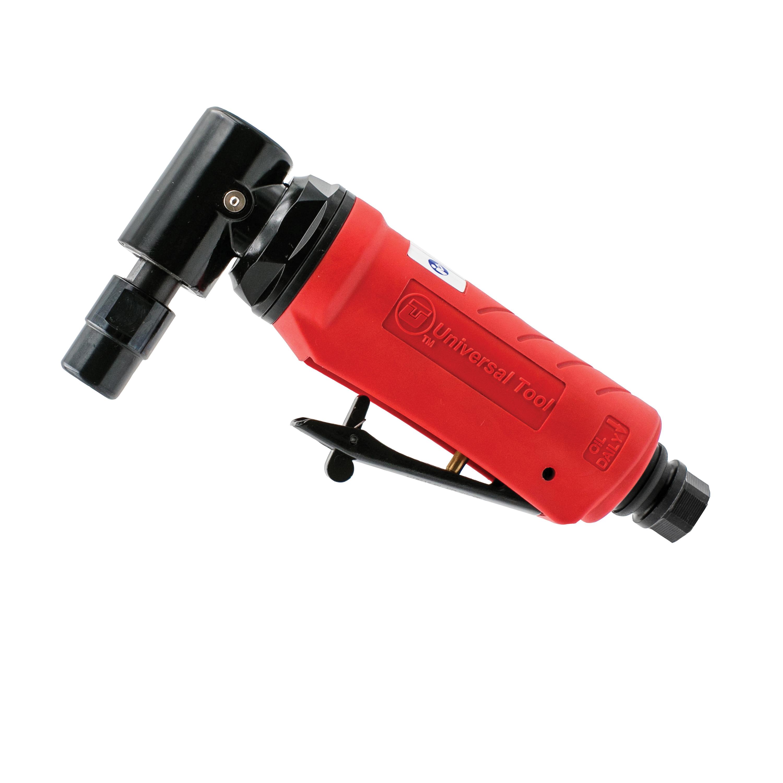 UT™ UT8710-25 Mini Straight Pneumatic Die Grinder, 1/4 in Collet, For Max Wheel Dia: 2 in, 1/2 hp, 4 cfm Air Flow, 90 psi, 25000 rpm Speed