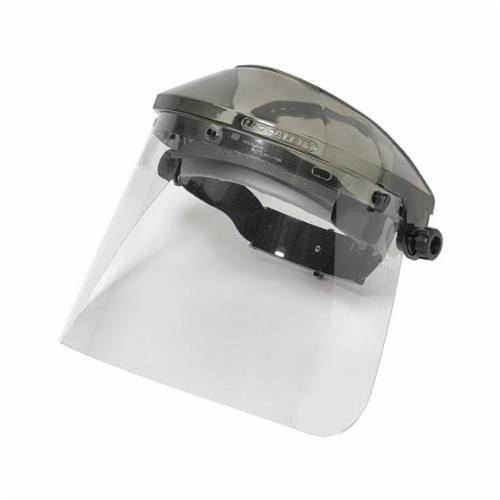 U.S. Safety™ 487400 Matrix® ValuGard Replacement Visor, Clear, Polycarbonate, 7-1/2 in H x 15-1/2 in W x 0.4 in THK Visor, Specifications Met: ANSI Z87.1, CSA Z94.3