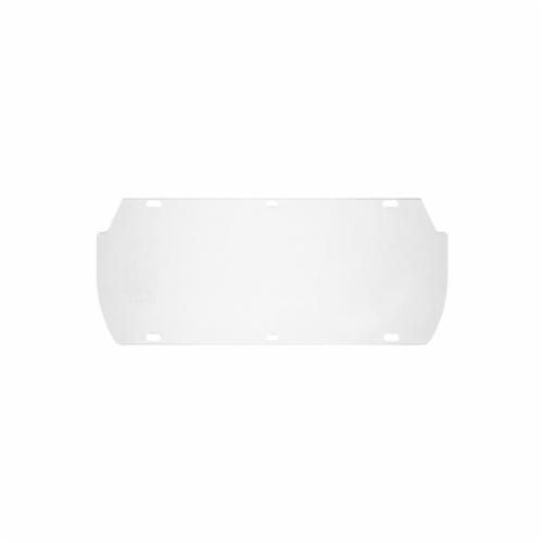 U.S. Safety™ 494400 Double Matrix Replacement Window, Clear, Acetate, 7 in H x 16-3/4 in W x 0.4 in THK Visor, For Use With Double Matrix Faceshields, Specifications Met: ANSI Z87.1, CSA Z94.3