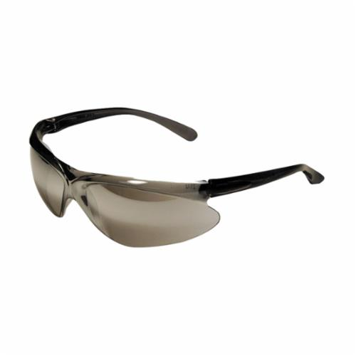 Uvex® by Honeywell A210 A200 Safety Eyewear With Side Shields, Hard Coated, Clear Lens, Blue, Nylon Frame, Polycarbonate Lens, ANSI Z87.1-2010, CSA Z94.3