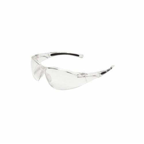 Uvex® by Honeywell A705 A700 General Purpose Safety Eyewear, Fog-Ban® Anti-Fog, Clear Lens, Wrap Around Frame, Clear, Polycarbonate Frame, Polycarbonate Lens, ANSI Z87.1-2010, CSA Z94.3