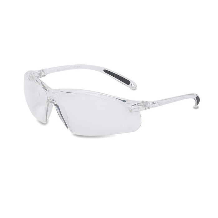 Uvex® by Honeywell A403 A400 Safety Eyewear, Anti-Scratch, Silver Mirror Lens, Frameless Frame, Gray, Polycarbonate Frame, Polycarbonate Lens, ANSI Z87.1-2010, CSA Z94.3