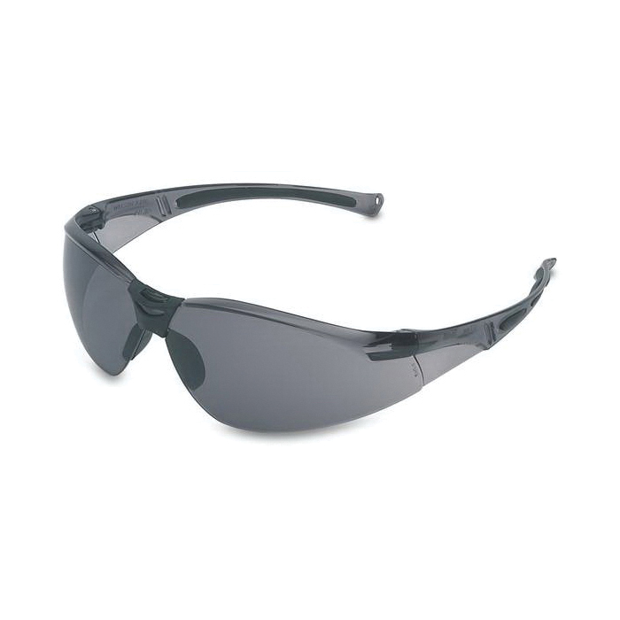 Uvex® by Honeywell A800 A800 General Purpose Safety Eyewear, Anti-Scratch/Hard Coat, Clear Lens, Wrap Around Frame, Clear, Polycarbonate Frame, Polycarbonate Lens, ANSI Z87.1-2010