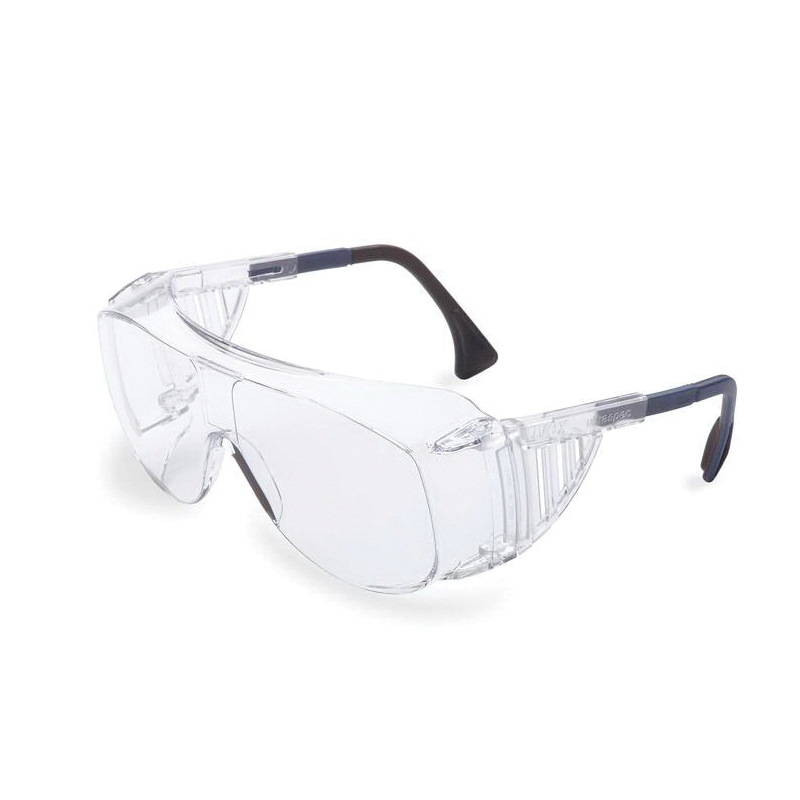 Uvex® by Honeywell L99-LOTG-CO2/AB Laser Over-the-Glasses Eyewear, Clear Lens, Black Frame