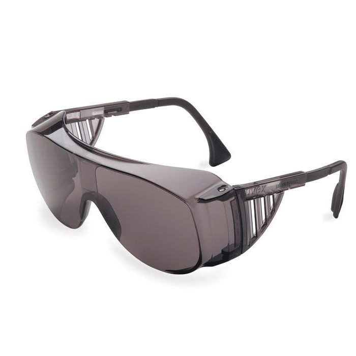 Uvex® by Honeywell S0112 Ultraspec® 2001 Lightweight Safety Eyewear, Ultra-Dura® Anti-Scratch, Clear Lens, Full Framed Frame, Clear, Nylon Frame, Polycarbonate Lens, ANSI Z87.1-2010, CSA Z94.3-2007