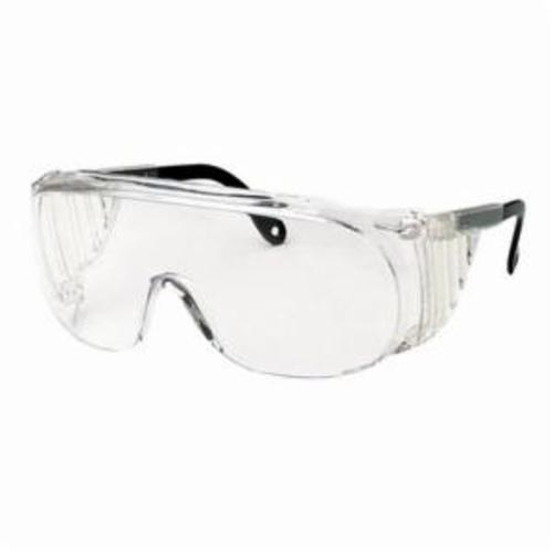 Uvex® by Honeywell S0113 Ultraspec® 2001 Lightweight Safety Eyewear, Ultra-Dura® Anti-Scratch, Gray Lens, Full Framed Frame, Gray, Nylon Frame, Polycarbonate Lens, ANSI Z87.1-2010, CSA Z94.3-2007