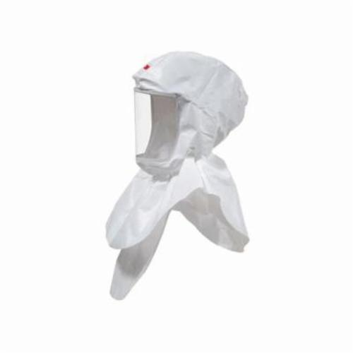 Versaflo™ 051131-17091 Replacement Hood With Inner Collar, For Use With PAPR System, SAR System, S-655 Hood Assembly, White