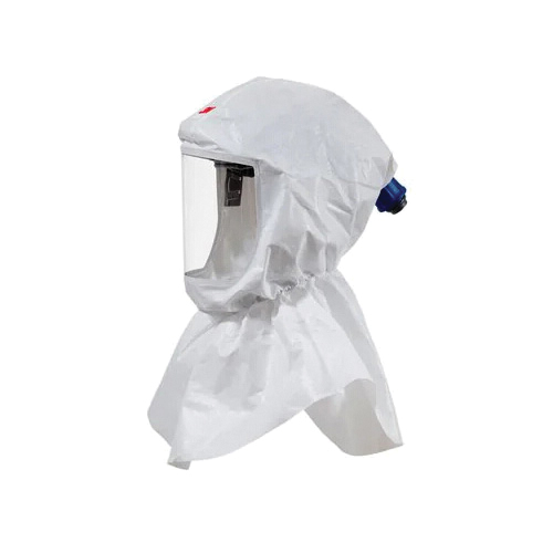 Versaflo™ 051131-17092 S Series Replacement Hood, Standard, For Use With 3M™ Powered Air Purifying and Supplied Air Respirator Systems, White