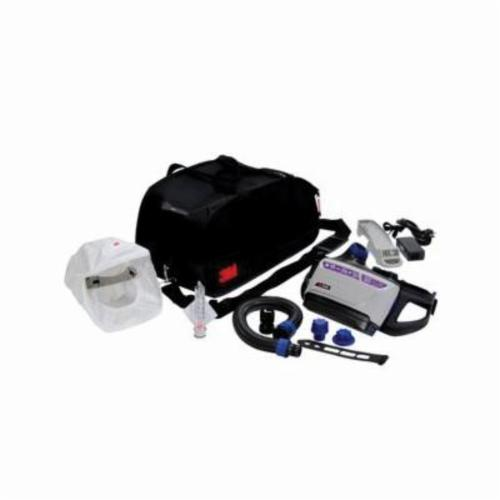 Versaflo™ 051131-17378 Hard Hat Powered Air Purifying Respirator Unit, Rechargeable Lithium-Ion Battery, Specifications Met: ANSI Z89.1 Type I, Class G