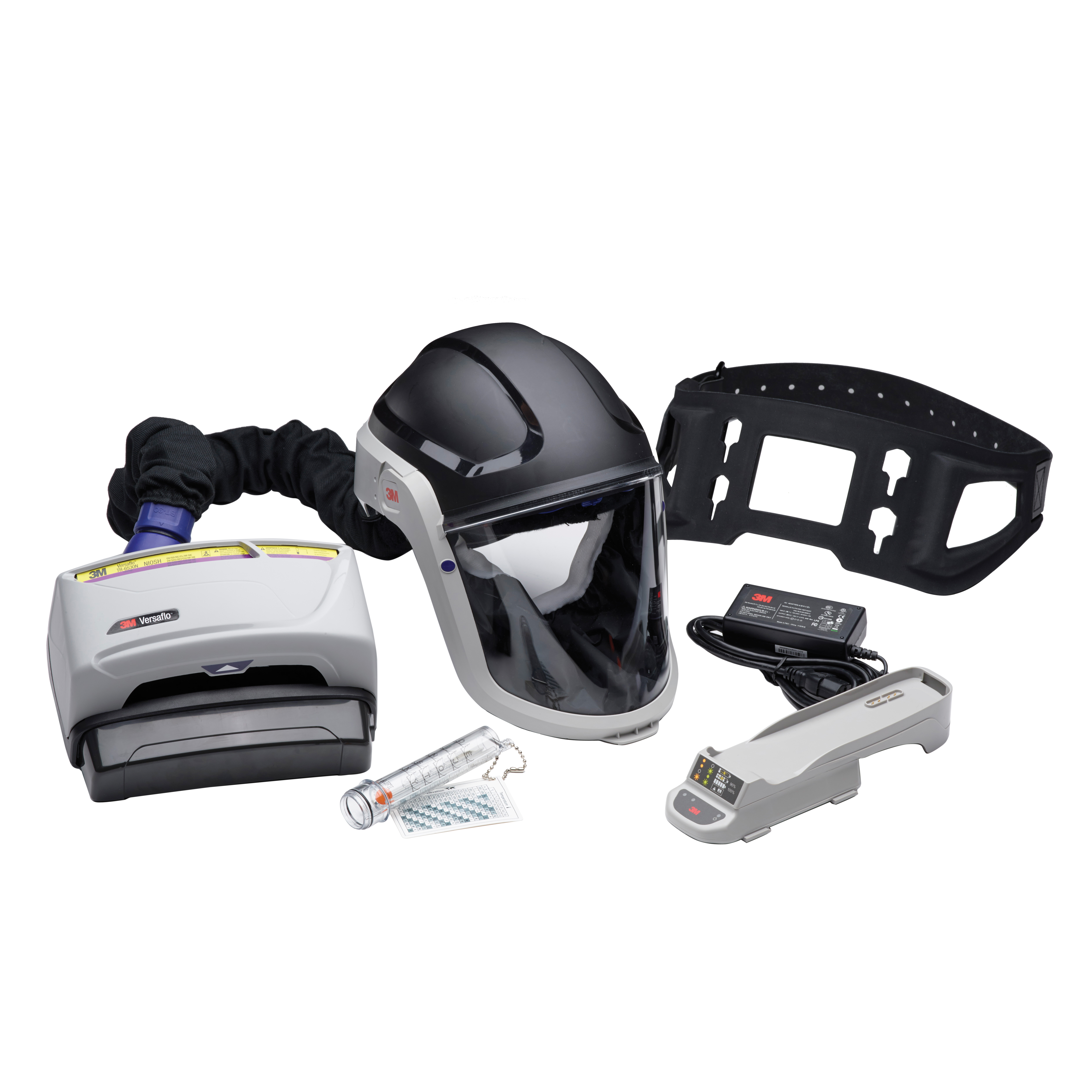 3M™ Versaflo ™ Powered Air Purifying Respirator PAPR Assembly TR-616N,HC Battery, BT-30 Breathing Tube, HD Belt, 1 EA/Case