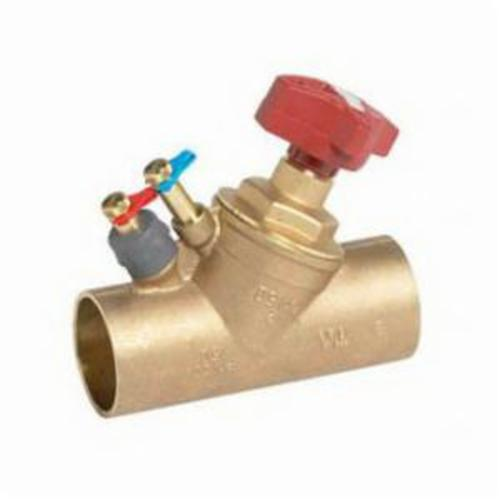 Victaulic® V006786CBV 786 Balancing Valve, 3/4 in Nominal, Solder End Style, 20 gpm Flow Rate, AMETAL® Body