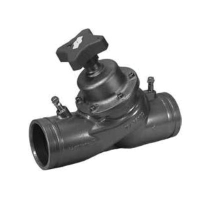 Victaulic® V024789CBV 789 Balancing Valve, 2-1/2 in Nominal, Grooved End Style, 290 gpm Flow Rate, Ductile Iron Body
