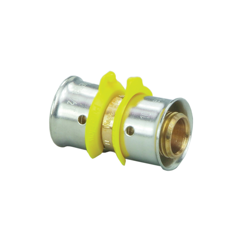 Viega PureFlow® 93073 Model 2815ZL Reducing Coupling, 1 x 1-1/2 in Nominal, PEX Press® End Style, Bronze, Import