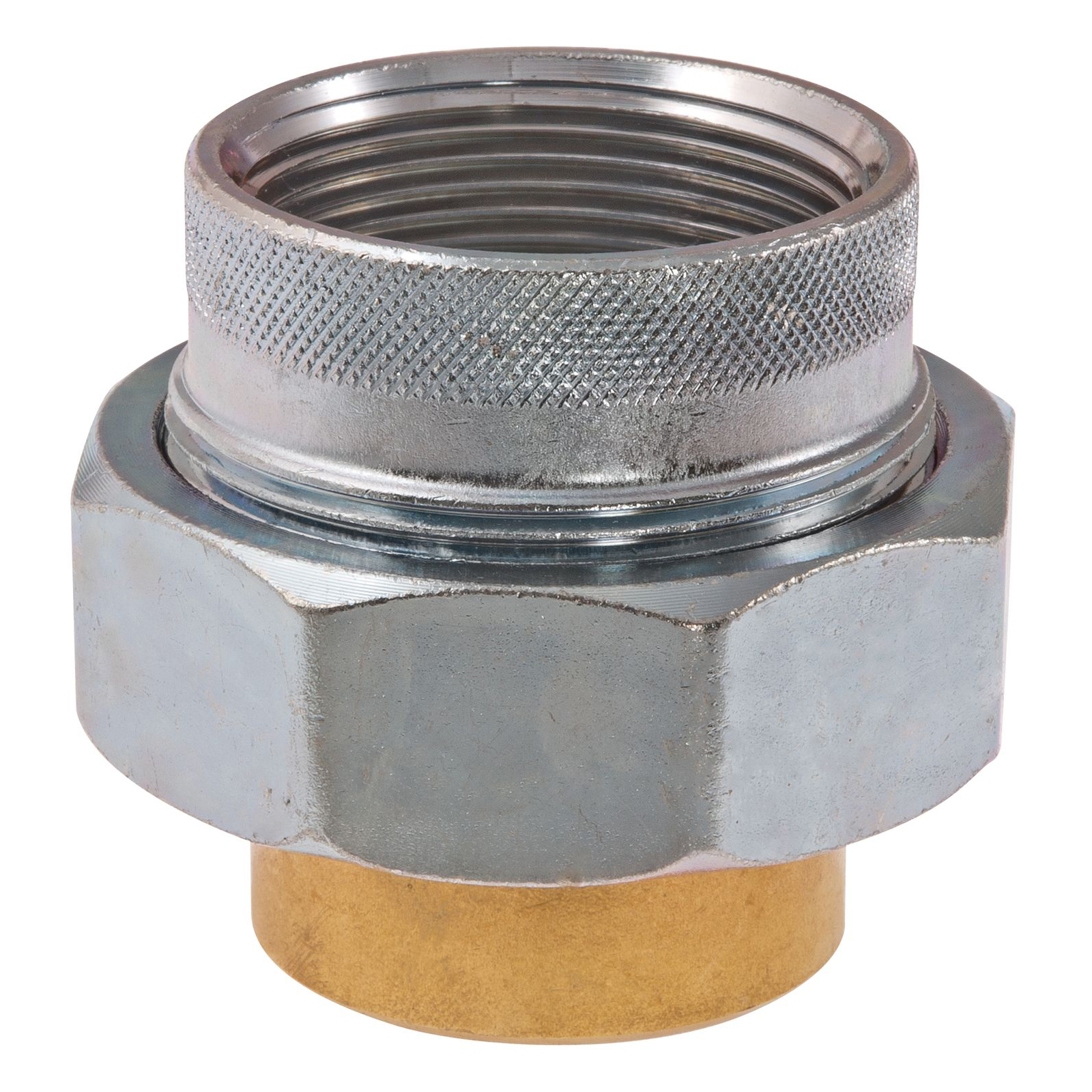 WATTS® 0009891 Dielectric Union, 3/4 in Nominal, FNPT x Solder End Style, Brass, Import