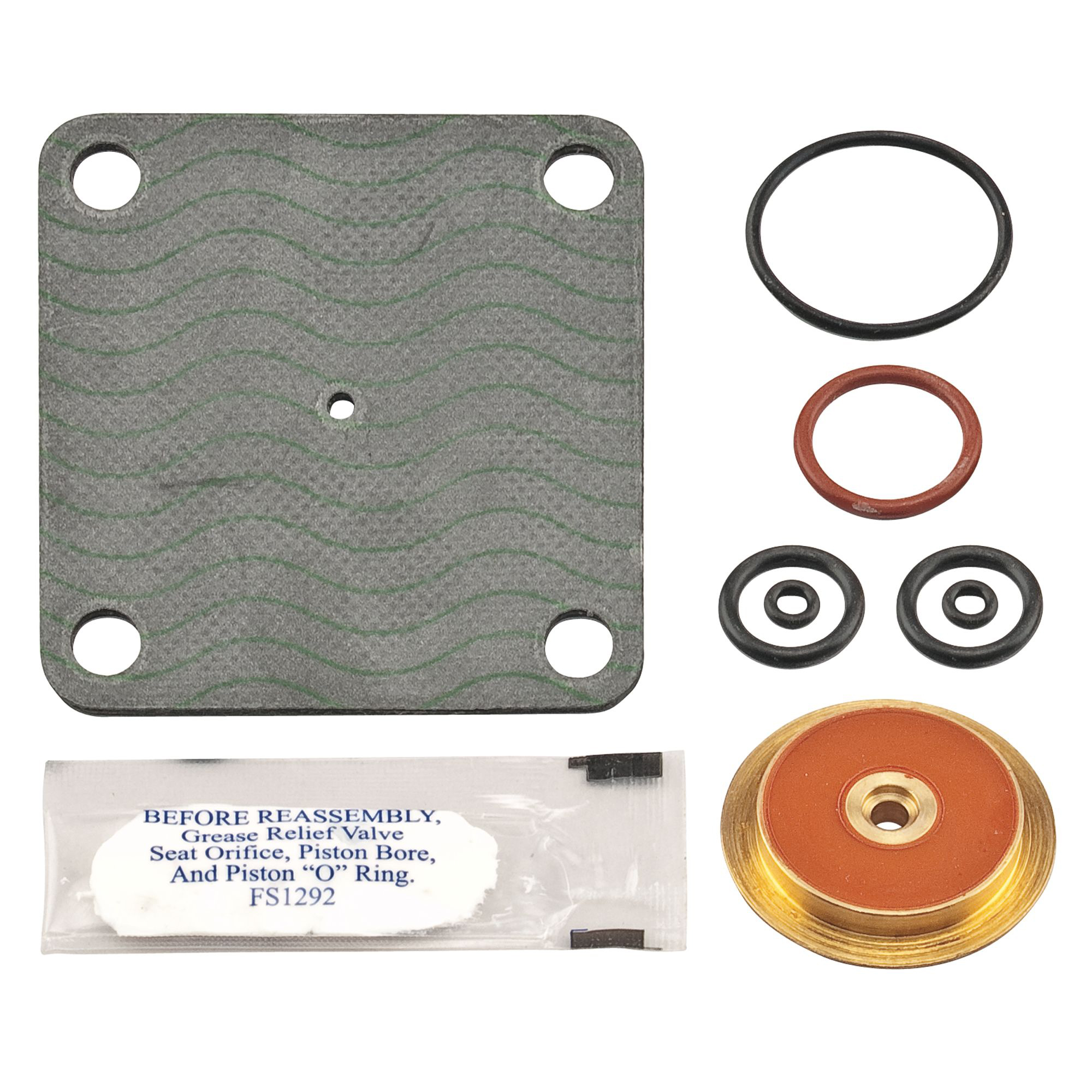WATTS® 0794061 LFRK 909-RV Parts Kit, For Use With: Model 909/LF909 Reduced Pressure Zone Assembly, Rubber, Domestic