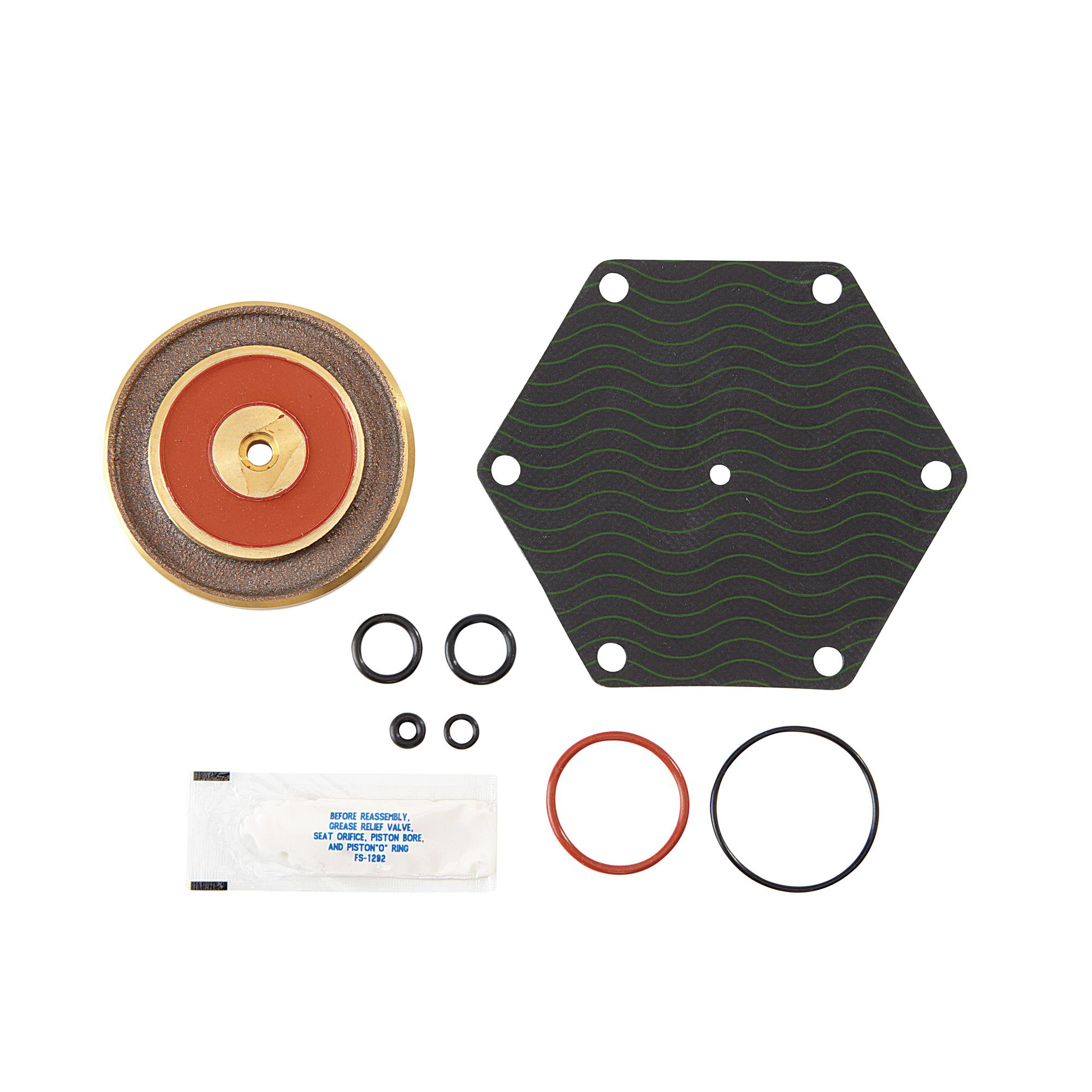 WATTS® 0794062 LFRK 909M1-RV Parts Kit, For Use With: Model 009/LF009 Reduced Pressure Zone Assemblies, Rubber, Domestic