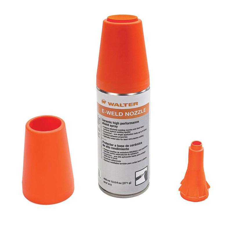 Walter Surface Technologies 53F403 E-WELD 4™ Premium Anti-Spatter Release Emulsion, 16.9 oz Plastic Spray Bottle, Liquid Form, Milky White