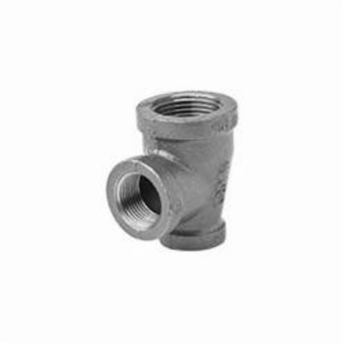 Ward Mfg 1BX1X1.BMT Pipe Reducing Tee, 1-1/4 x 1 x 1 in, FNPT, 150 lb, Malleable Iron, Black, Domestic