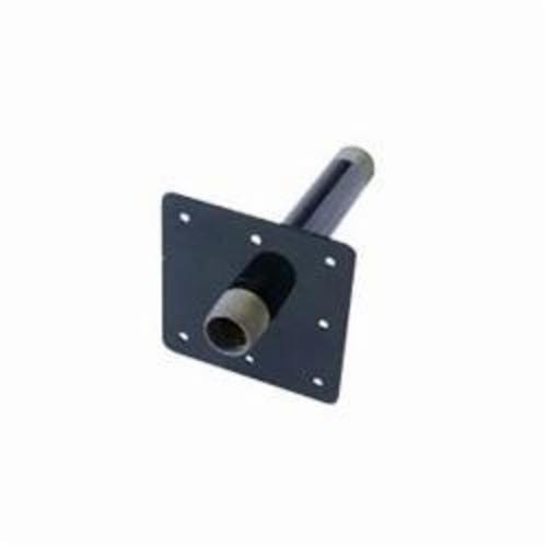 Ward Mfg WARDFlex® EX6.WFMSO Meter Stub-Out, Carbon Steel, 3/4 x 6 in, SCH 40/STD, MNPT, Black Oxide, Domestic