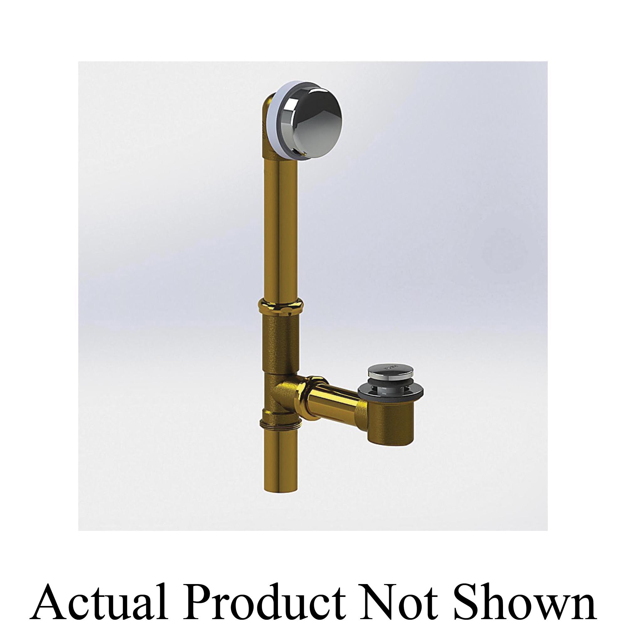 Watco® 591-FA-BRS-CP-U Innovator® 591 Slip Joint Complete Bath Waste, Brass, Polished Chrome