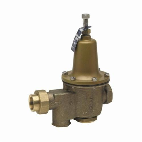 WATTS® 0009100 LFU5B, LFU5B-Z3 High Performance Pressure Reducing Valve, 1/2 in, FNPT, 25 to 75 psi, Cast Copper Silicon Alloy Body, Domestic