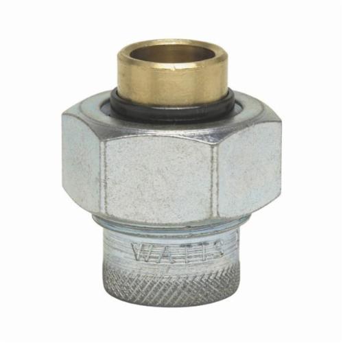 WATTS® 0009864, LF3001A Dielectric Union, 1/2 in, FNPT x Solder, Brass