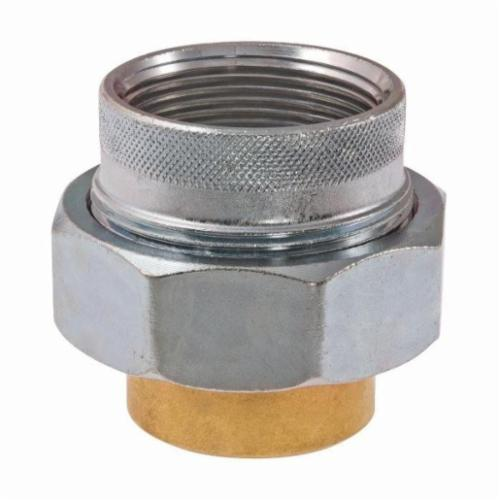 WATTS® 0009891, LF301 Dielectric Union, 3/4 in, FNPT x Solder, Brass, Import
