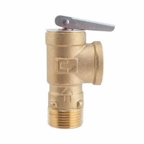 WATTS® 0556034 LF3L, LF3L-150 Poppet Pressure Relief Valve, 3/4 in, 150 psi, Copper Alloy Body, Domestic