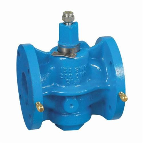 WATTS® 0036535 Flow Measurement Valve, 4 in Nominal, Flanged End Style, 125 lb, Semi-Steel Body, Domestic