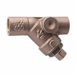 WATTS® 0124007 LF777, LF777S-20, LF777S-20 Wye Strainer, 2-1/2 in Nominal, 8-1/2 in OAL, NPT Connection, EPDM Softgoods, Domestic