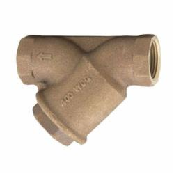 WATTS® 0124002 LF777, LF777SM1-20, LF777SM1-20 Wye Strainer, 3/4 in Nominal, 3-5/16 in OAL, NPT Connection, EPDM Softgoods, Domestic