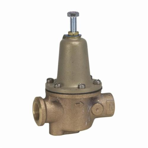 WATTS® 0322825 1156, N256 Feed Water Pressure Regulator, 3/4 in, Threaded, 100 psi, Bronze Body
