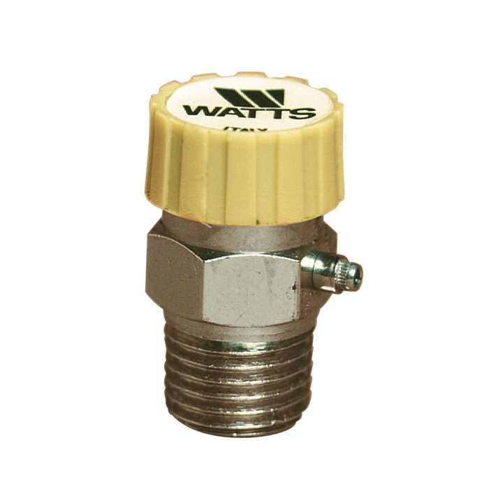 WATTS® 590712 HAV Automatic Air Vent Valve, 1/8 in Nominal, 1.45 to 125 psi Pressure, Brass Body, Import