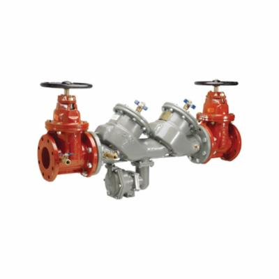 Febco® MasterSeries® 0683105 LF860, LF860-NRS RP In-Line Large Diameter Reduced Pressure Zone Assembly, 3 in, Flanged, Resilient Wedge Gate Valve, Ductile Iron Body, Domestic