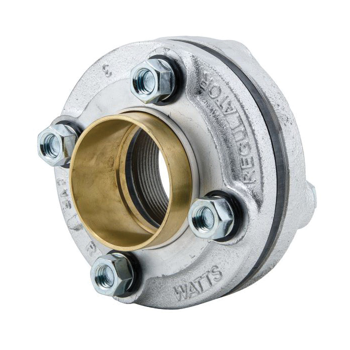 WATTS® 0821747 LF3100M3 Dielectric Flanged Pipe Fitting, 2-1/2 in, FNPT x C, 175 psi, Domestic