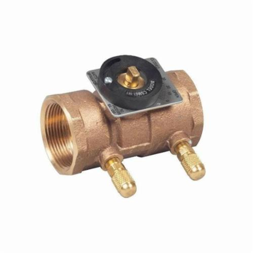 WATTS® 0856744 CSM, CSM-61-M1-T Flow Measurement Valve, 1-1/2 in, Threaded, Bronze Body, Domestic