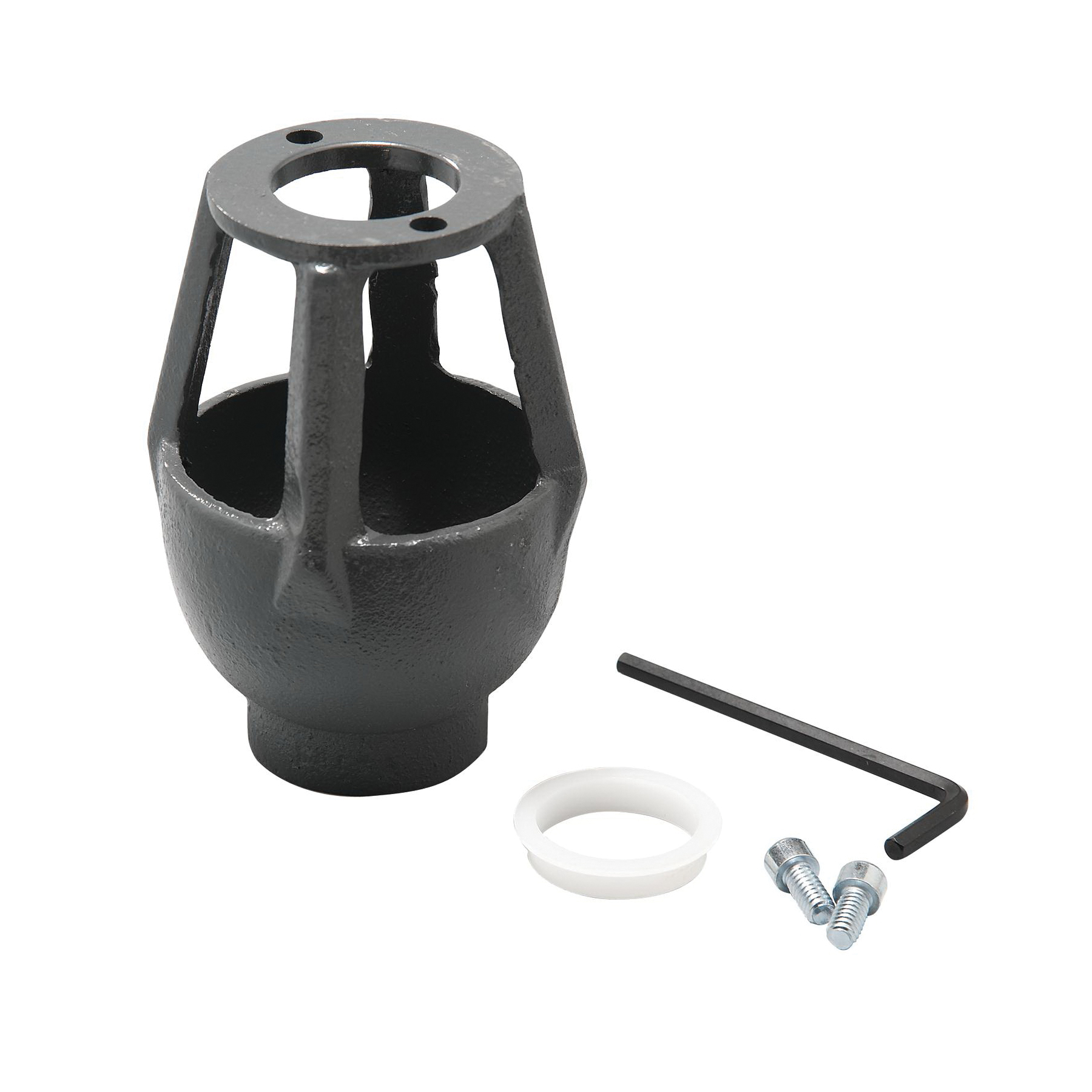 WATTS® 0881376 909AGC Air Gap, For Use With: Model 009/909/LF909 3/4 to 1 in Reduced Pressure Zone Assembly, 009/LF009M2 1 to 1-1/2 in Reduced Pressure Zone Assembly and 1-1/4 to 2 in Reduced Pressure Zone Assembly, 1 in FNPT, Cast Iron, Import