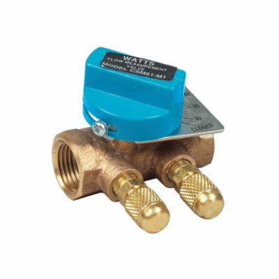 WATTS® 0856729 CSM, CSM-61-M1-T Flow Measurement Valve, 3 in, Threaded, Bronze Body, Domestic