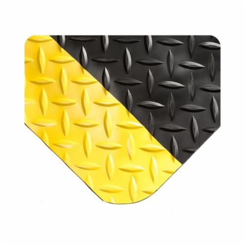 NoTrax® 4103FTX20FT Airug® 410 Anti-Fatigue Floor Mat, 20 ft L x 3 ft W x 3/8 in, 5/8 in THK, Closed Cell PVC Foam, Resists: Abrasion and Slip