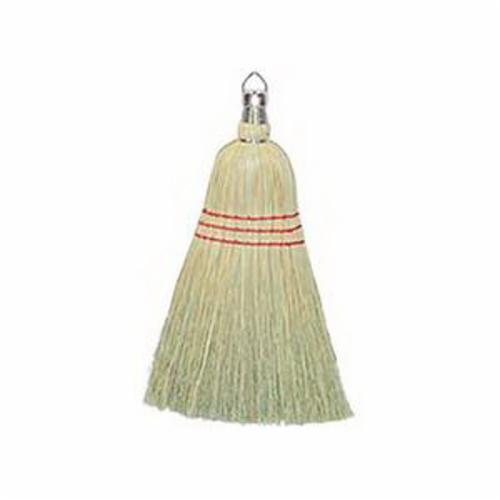 Weiler® 44009 Upright Broom, 56 in OAL, 15 in Trim, 100% Corn Fiber Bristle, Wood Handle