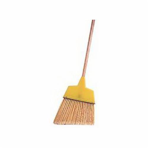Weiler® 44266 Whisk Broom, 10 in Trim, 8-1/2 in Sweep Face, 100% Corn Fiber Bristle, Fiber Handle