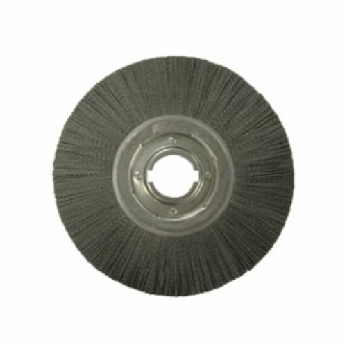 Nylox® Dynaline® 26908 Micro Abrasive Backing Pad, 0.19 in Dia x 1 in L, 5 in OAL, 0.012 in Dia Filament/Wire