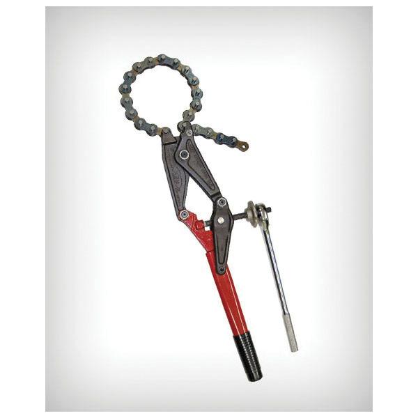 Wheeler-Rex 490-6 Ratchet Pipe Cutter, 1-1/2 to 6 in