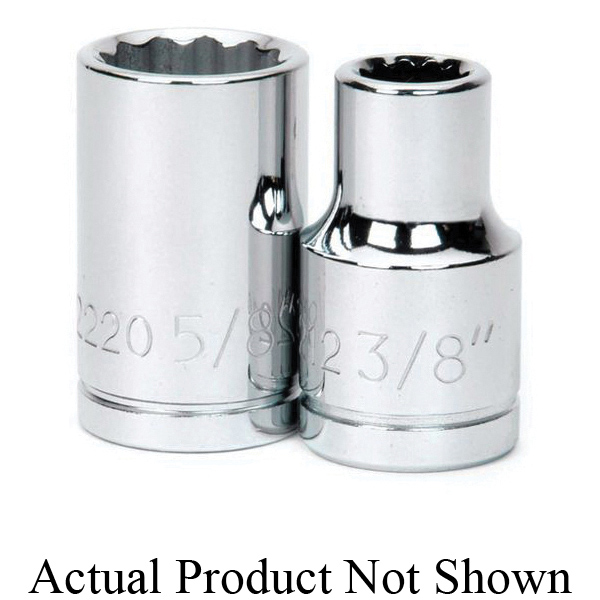 Facom® FC-J.400AVSE VSE Insulated Socket Set, Metric, 9 Pieces