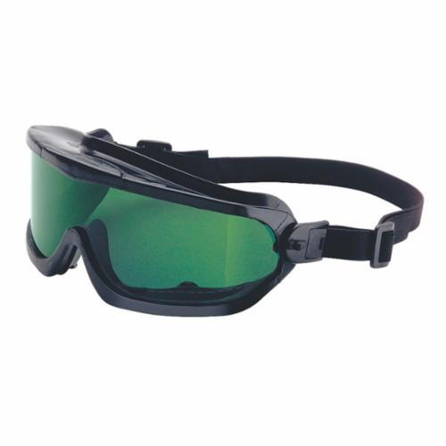 Honeywell Safety 11250810 Indirect Vent Protective Goggles, Anti-Fog Clear Polycarbonate Lens, 99.99 % UV Protection, Neoprene Strap, ANSI Z87.1-2003, CSA Z94.3