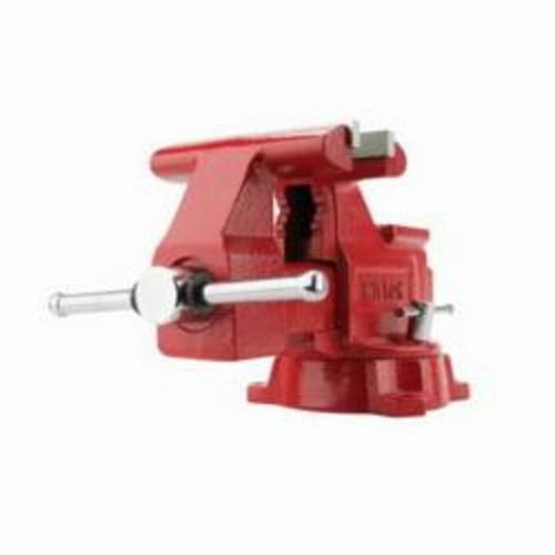 Wilton® 11106 General Purpose Bench Vise, 6 in Jaw Opening, 6 in W Jaw, 3 in D Throat