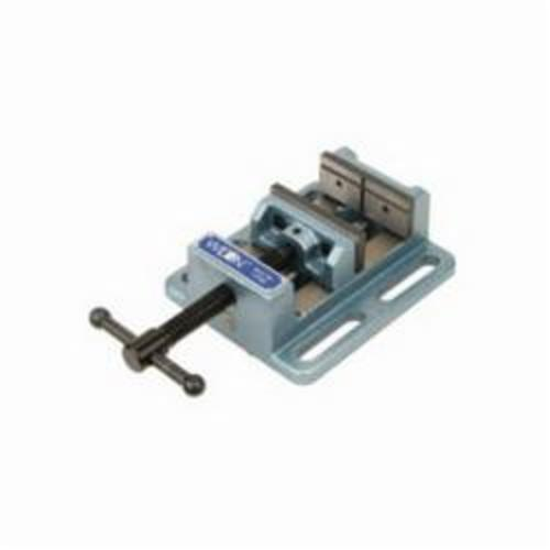 Wilton® 11674 Drill Press Vise, 7-5/16 in L x 2-3/4 in H, 4 in Jaw Opening, Cast Iron