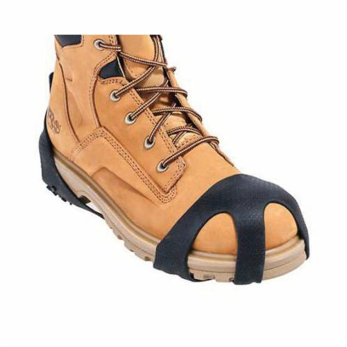 Servus® by Honeywell 11095-BLM-1XL SF™ SuperFit 11095 Premium Waterproof Overboots, Men's, ANSI Z41-1991, ASTM F2413-11, CAN/CSA Z195-09, OSHA 1910.136, SZ 14 to 15 Fits Shoe, Plain Toe, Black, Self Cleaning Sole, 3-Buckle Closure, PVC Upper & Midsole