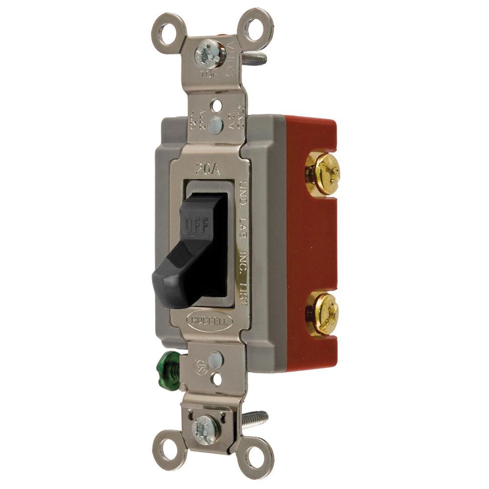 Wiring Device-Kellems HBL1221BK